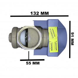 BASE PARA VÁLVULA DE DESCARGA DECA HYDRA MAX 1.1/2 (DN40)4550.504
