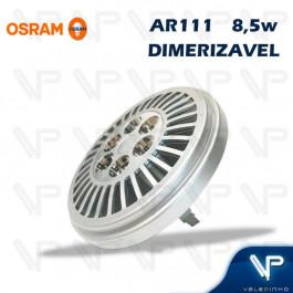 LAMPADA LED AR111 OSRAM 8,5W 12V 24G 2700K (BRANCO QUENTE)G53 DIMERIZÁVEL PARATHOM PRO ADVANCED