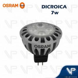 LÂMPADA LED DICRÓICA OSRAM MR16 7W 12V 36G 3000K(BRANCO QUENTE)GU5.3 PARATHOM