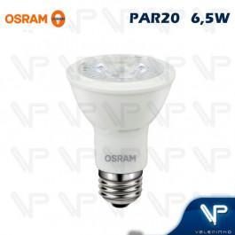 LÂMPADA LED PAR20 OSRAM 6,5W 3000K(BRANCO QUENTE)E27 BIVOLT