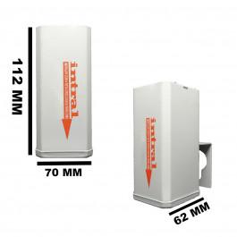 REATOR INTRAL PARA LÂMPADA VAPOR MERCÚRIO  125W 220V(USO EXTERNO) 00182