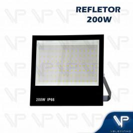 REFLETOR HOLOFOTE LED SMD   200W 6500K(BRANCO FRIO)BIVOLT IP66