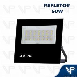REFLETOR HOLOFOTE LED SMD     50W 6500K(BRANCO FRIO)BIVOLT IP66