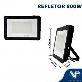 REFLETOR HOLOFOTE LED SMD   800W 6500K (BRANCO FRIO) BIVOLT IP66