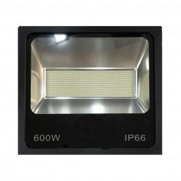 REFLETOR HOLOFOTE LED SMD   600W 6500K(BRANCO FRIO)BIVOLT IP66 PREMIUM