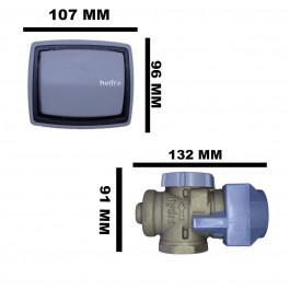 "VÁLVULA DE DESCARGA DECA HYDRA MAX CINZA 1.1/2"" (50mm) 2550E112"