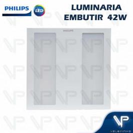 PAINEL PLAFON LED PHILIPS 42W EMBUTIR 60X60CM 3000K(BRANCO QUENTE) BIVOLT