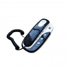 TELEFONE  KXT-686 C/ FIO ANATEL PRETO