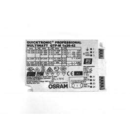 REATOR ELETRÔNICO OSRAM P/LÂMPADA COMPACTA 2x26-32Wx220V QTP-M