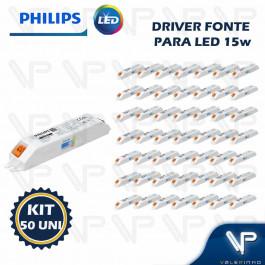 DRIVER FONTE PARA LED PHILIPS CERTA DRIVE 15W 36Vdc 220V KIT50