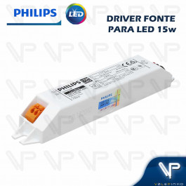 DRIVER FONTE PARA LED PHILIPS CERTA DRIVE 15W 36Vdc 220V