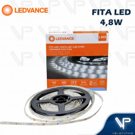 FITA LED LEDVANCE 4,8W 12V 6500K(BRANCO FRIO) 5METROS IP20 ECOFLEX