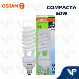LÂMPADA COMPACTA ESPIRAL HO OSRAM   60W 220V 6500K(BRANCO FRIO)E27 DULUXSTAR TWIST