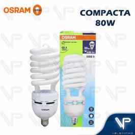 LÂMPADA COMPACTA ESPIRAL HO OSRAM   80W 220V 6500K(BRANCO FRIO)E27 DULUXSTAR TWIST