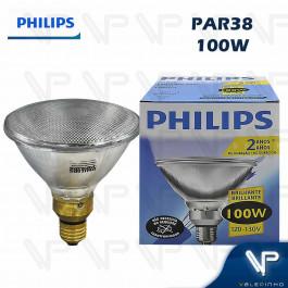 LÂMPADA HALÓGENA PAR38 PHILIPS   100W 127V 2800K(BRANCO QUENTE)E27