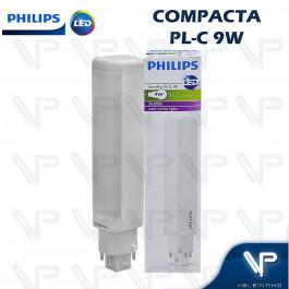 LÂMPADA LED COMPACTA PLC 4PINOS PHILIPS 9W 4000K(BRANCO NEUTRO)G24Q-3 COREPRO