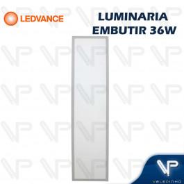 PAINEL PLAFON LED LEDVANCE 36W EMBUTIR 120X30CM 6500K (BRANCO FRIO) BIVOLT
