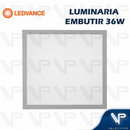 PAINEL PLAFON LED LEDVANCE 36W EMBUTIR 62x62CM 6500K (BRANCO FRIO) BIVOLT
