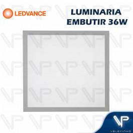 PAINEL PLAFON LED LEDVANCE 36W EMBUTIR 62x62CM 4000K (BRANCO NEUTRO) BIVOLT