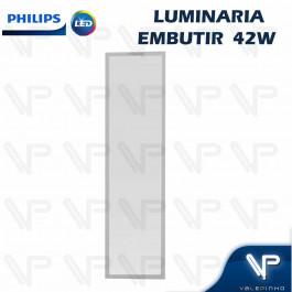 PAINEL PLAFON LED PHILIPS 42W EMBUTIR 120X30CM 3000K(BRANCO QUENTE) BIVOLT