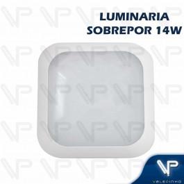 PLAFON ARANDELA HERMETICA LED SMD 14W SOBREPOR QUADRADO 4000K(BRANCO NEUTRO) BIVOLT IP66