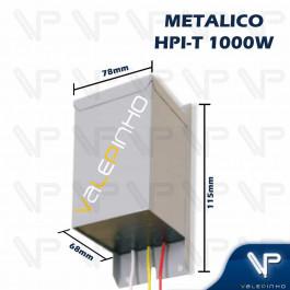 REATOR PARA LÂMPADA VAPOR SÓDIO/METÁLICO 1000W 220V(USO INTERNO)