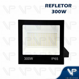 REFLETOR HOLOFOTE LED SMD   300W 6500K(BRANCO FRIO)BIVOLT IP66