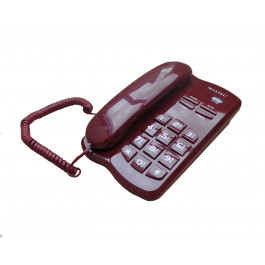 TELEFONE  MT-3036 C/ FIO ANATEL VINHO