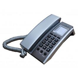 TELEFONE  KXT-3035 C/ FIO ANATEL CINZA