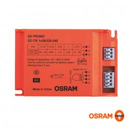 REATOR ELETRÔNICO OSRAM P/LÂMPADA COMPACTA 1x26Wx220V EZ-T/E
