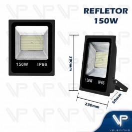 REFLETOR HOLOFOTE LED SMD   150W 6500K(BRANCO FRIO)BIVOLT IP66