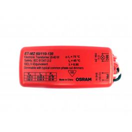 TRANSFORMADOR ELETRÔNICO DIMERIZÁVEL OSRAM ET-ZL60 20a50Wx220V