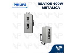 REATOR PHILIPS PARA LÂMPADA VAPOR METÁLICO   400W 220V HPI(USO EXTERNO) VTE400A26HPI E